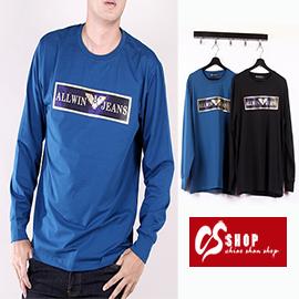 CS衣舖 質感萊卡 彈性布料 長袖T恤 8657