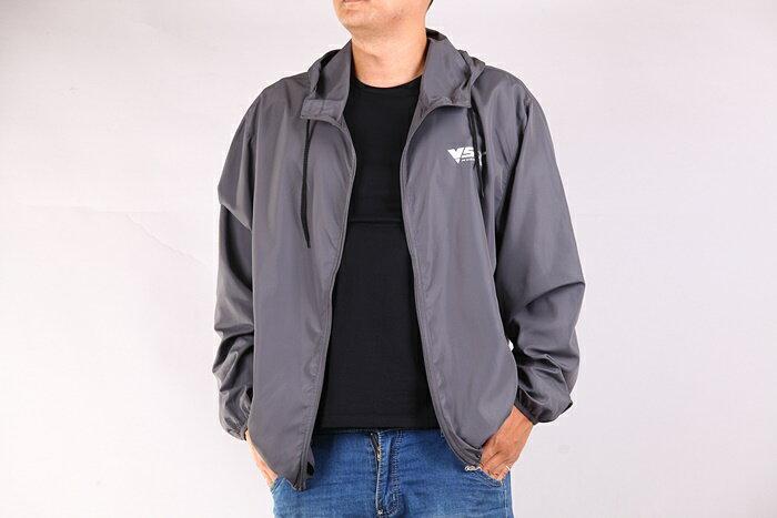 CS衣舖 加大尺碼 極輕薄 防風防曬 風衣薄外套 三色6553 1