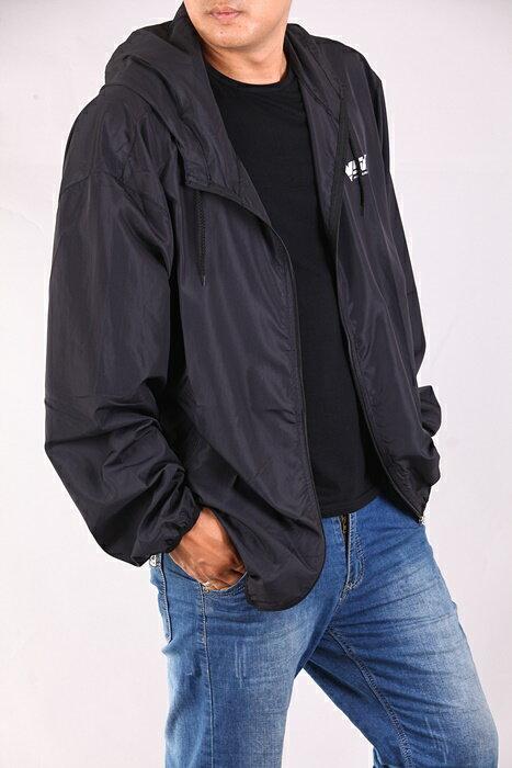 CS衣舖 加大尺碼 極輕薄 防風防曬 風衣薄外套 三色6553 2
