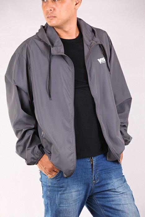 CS衣舖 加大尺碼 極輕薄 防風防曬 風衣薄外套 三色6553 4