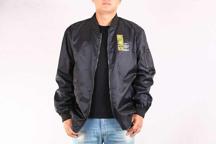 CS衣舖 加大尺碼 型男 防風 MA-1 飛行夾克 軍裝外套 兩色 88017 5