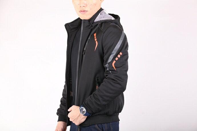 CS衣舖 個性騎士 厚刷絨防風保暖 外套夾克 8E08 2