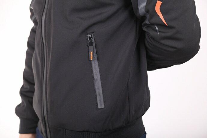 CS衣舖 個性騎士 厚刷絨防風保暖 外套夾克 8E08 5