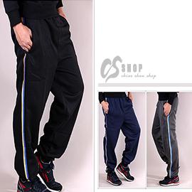 【CS衣舖 】厚棉保暖 運動縮口褲