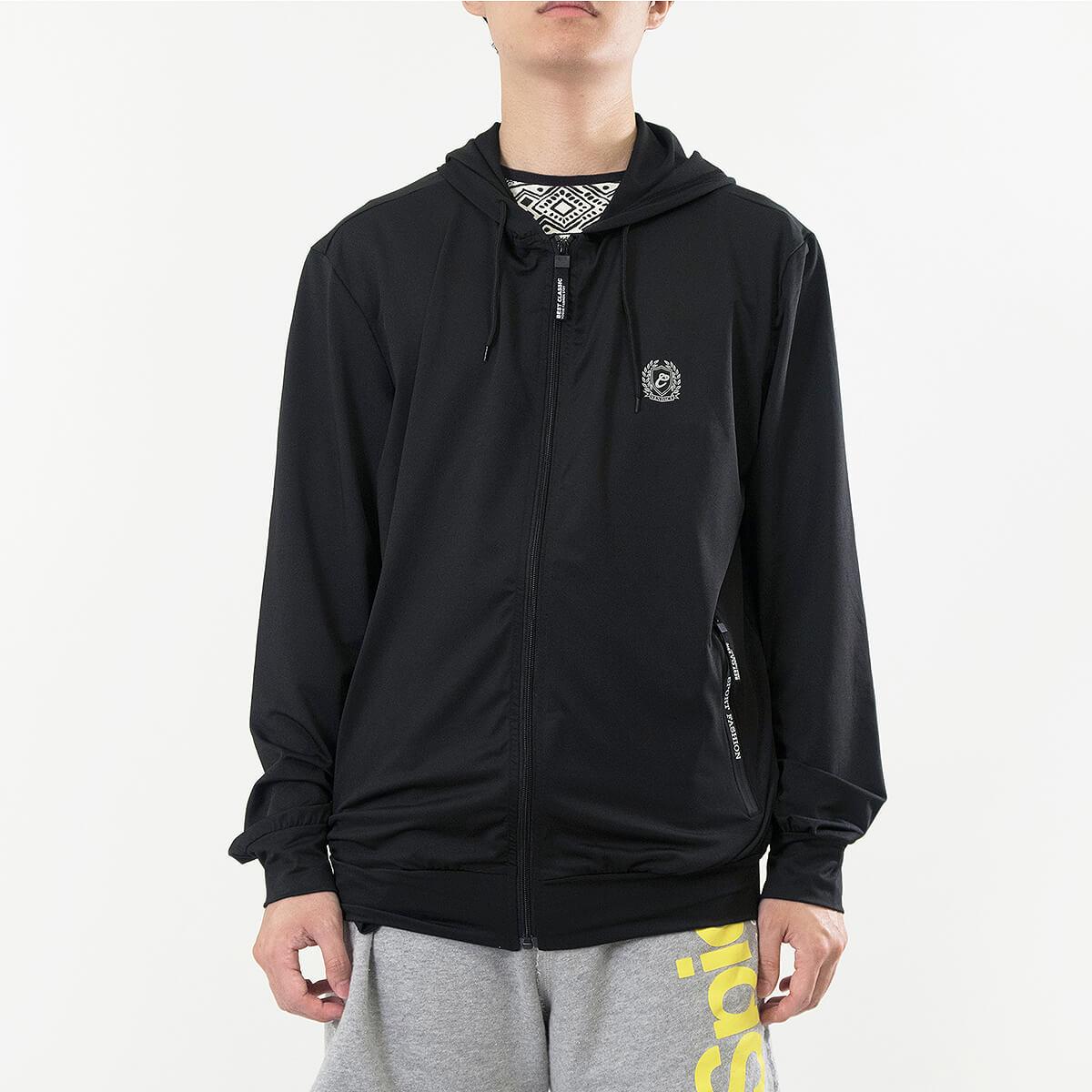 加大尺碼防曬外套 防風遮陽薄外套 柔軟輕薄休閒外套 連帽外套 運動外套 黑色外套 Sun Protection Jackets Mens Jackets Casual Jackets (321-0516_0517-21)黑色、(321-0516_0517-22)紋理灰 3L 4L 5L 6L (胸圍122~140公分  48~55英吋) 男 [實體店面保障] sun-e 3