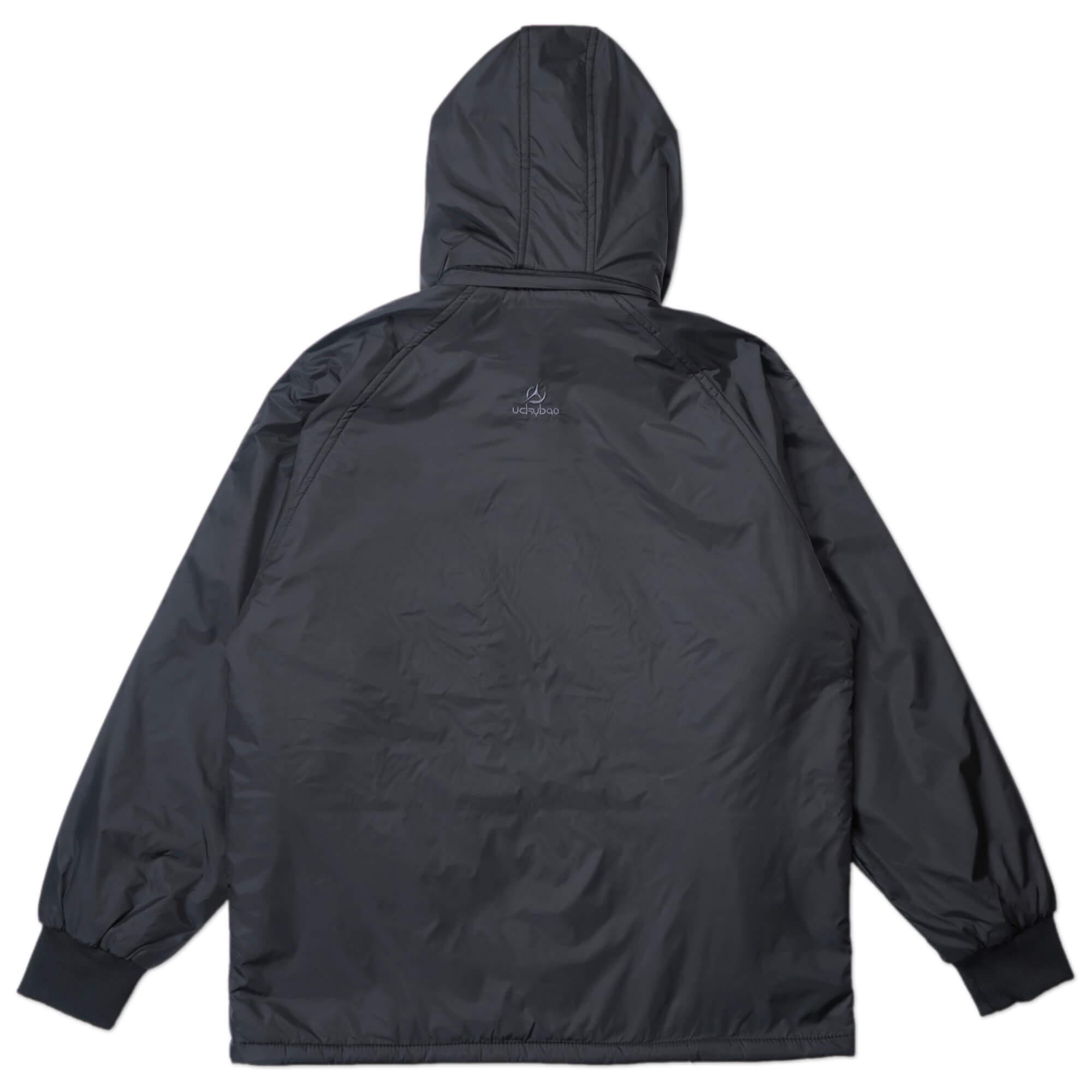 內舖絨布保暖風衣外套 保暖外套 騎士外套 夾克外套 防風外套 黑色外套 FLANNEL LINED WINDBREAKER JACKETS (312-6077-21)黑色 L XL 2L(胸圍46~51英吋) [實體店面保障] sun-e 2