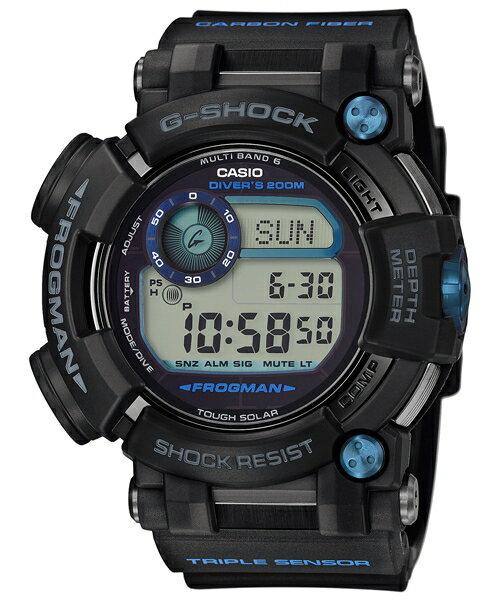 CASIO G-SHOCK GWF-D1000B-1 FROGMAN蛙人錶強悍進化版腕錶/53.3mm