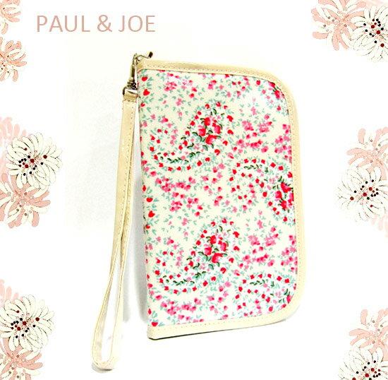 PAUL&JOE  春漾花卉護照夾 / 萬用包 《Umeme》