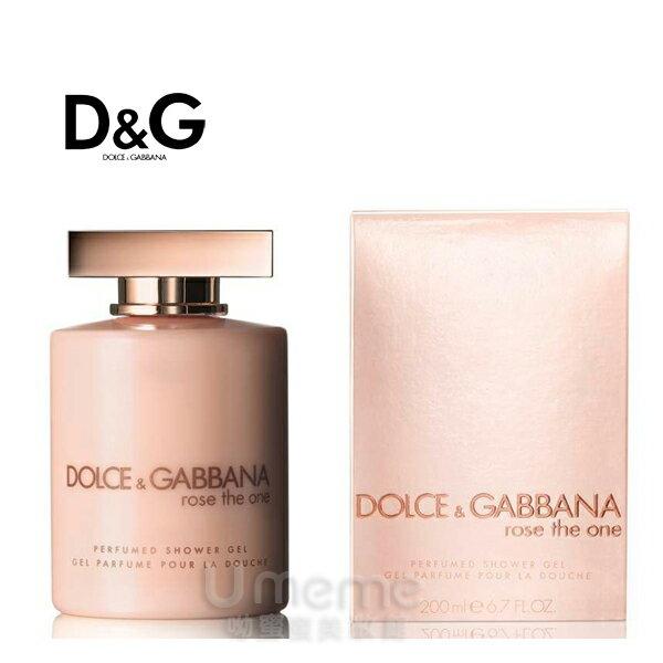 《Umeme》D&G Rose The One 唯戀玫瑰 女性淡香沐浴精200ml