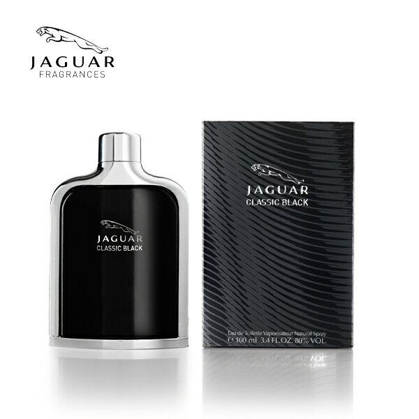 JAGUAR CLASSIC BLACK 黑爵男性香水 100ml