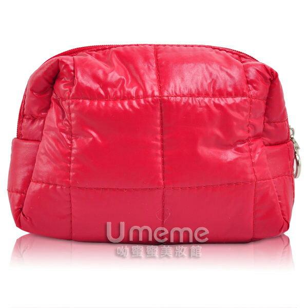 CLARINS 克蘭詩 紅色九重葛化妝包/萬用包《Umeme》
