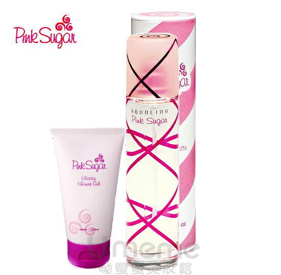 Pink Sugar 粉紅愛戀 女性淡香水30ml  限量2品組合