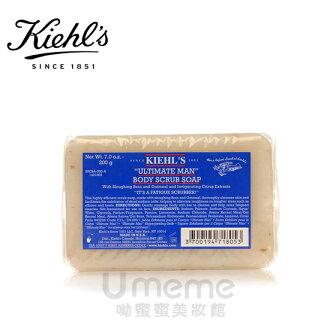 Kiehl`s 契爾氏 極限男性燕麥去角質潔膚皂 200g《Umeme》