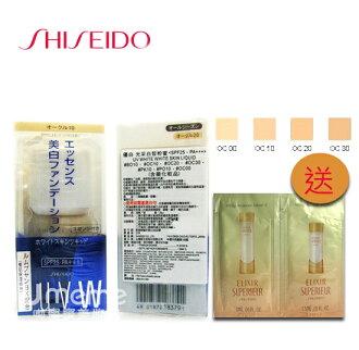 SHISEIDO資生堂 UV WHITE 優白 光采白皙粉蜜 25ml (粉底液 內附粉撲)