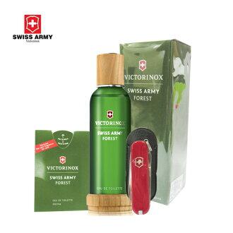 VICTORINOX SWISS ARMY 瑞士維氏  沁然森林男性香水100ml送原廠贈品