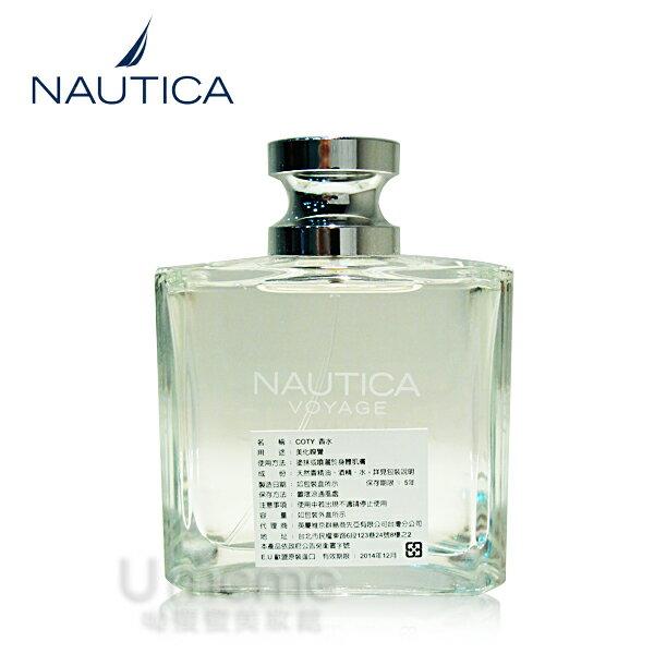 (TESTER) NAUTICA  VOYAGE SUMMER夏日航行,男性香水100ml