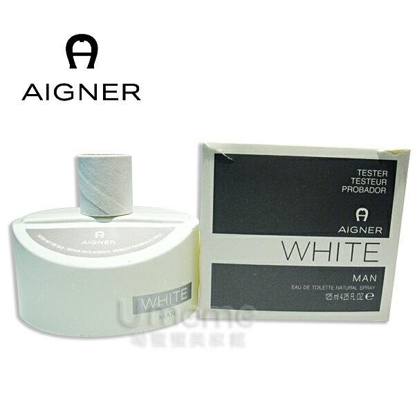 AIGNER艾格納  WhiteMen  (Test 包裝)白色經典男香 125ml  《Umeme》