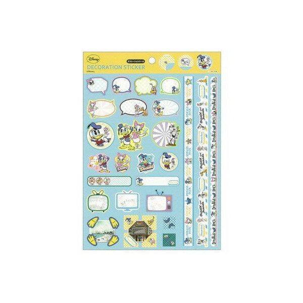 X射線~C432304~唐老鴨Donald Duck黛西Daisy裝飾貼紙,磁磚貼 貼紙