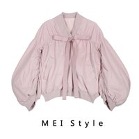 飛行外套推薦到MEI Style 粉紅膠囊飛行短版夾克【G17SDC004】+ 追 加 +就在MEI Style 美力推薦飛行外套