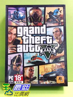 (現金價)  現貨 PC版 PC GAME 俠盜獵車手5 中 文版實體包GTA5 俠盜獵車手