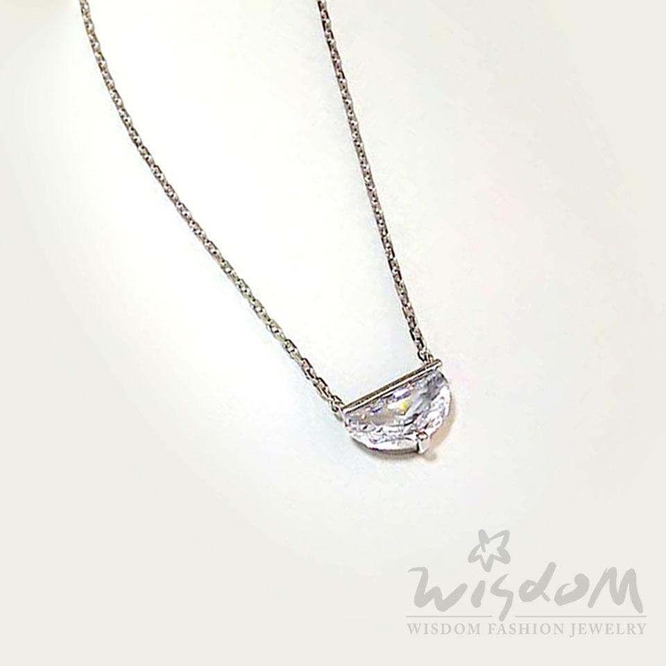 威世登時尚珠寶-故意不完美銀小套鍊 ZSB00004-AFHX