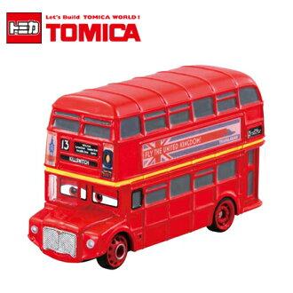 日貨 TOMICA CARS 汽車總動員 雙層巴士 C-39 多美小汽車 皮克斯 迪士尼 日本進口【B061677】