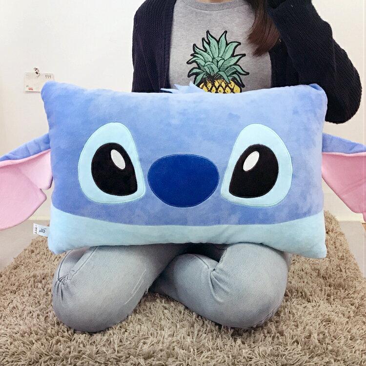 PGS7 迪士尼系列商品 - 史迪奇 Stitch 雙人枕 星際寶貝 抱枕 靠枕 娃娃【SJA7518】