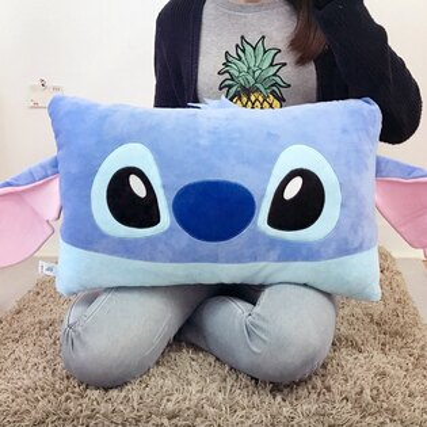 PGS7迪士尼系列商品-史迪奇Stitch雙人枕星際寶貝抱枕靠枕娃娃【SJA7518】
