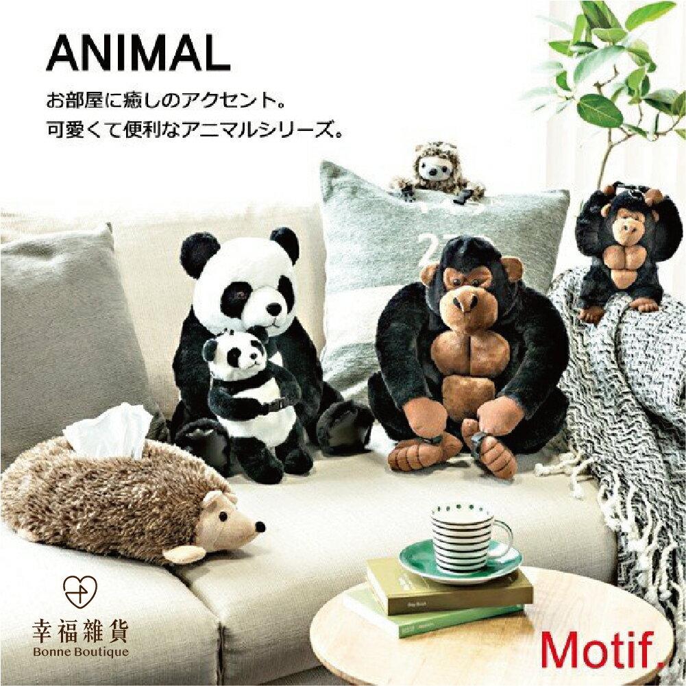 現貨 大猩猩面紙套 娃娃造型面紙盒 趣味居家擺設 裝飾 可擺可掛 日本直送 男友 女友 情人節【Bonne Boutique幸福雜貨】 2