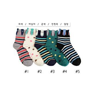 韓國造型短襪-多款任選 (SOCK-054-C)