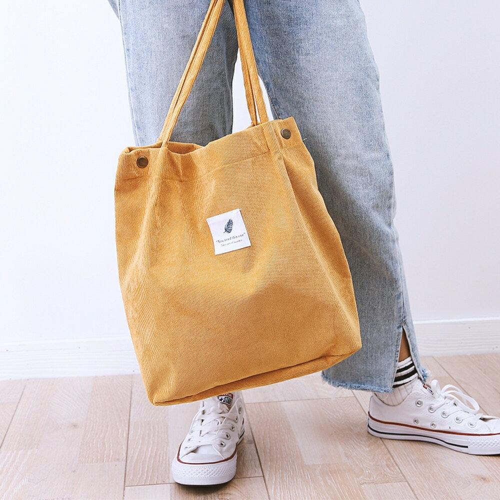 ✤宜家✤時尚簡約百搭手提帶5 肩背包 購物袋 環保袋