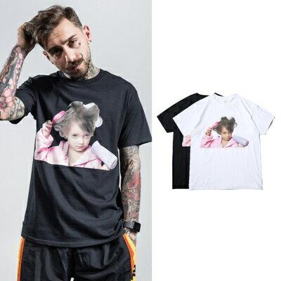 短袖T恤休閒上衣-可愛女孩純色棉質男裝2色73qx61【獨家進口】【米蘭精品】 0