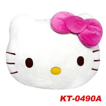 【真愛日本】8080800001 粉結頭型大暖手枕-L  三麗鷗 Hello Kitty 凱蒂貓 抱枕 靠枕 保暖