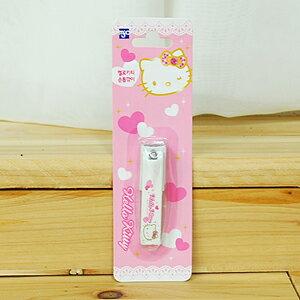 X射線【C461345】Hello Kitty 指甲剪-小,指甲刀/指甲鉗/指甲剪/修容/銼刀