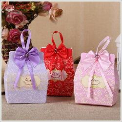 《不囉唆》婚禮-10入歐式LOVE喜糖盒-中號 禮物/禮盒/包裝/包材(不挑色/款)【A426999】