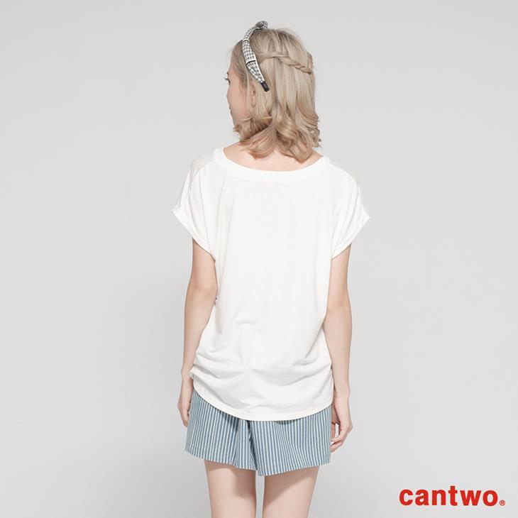 cantwo糖果色花朵女孩短袖T(共三色) 3