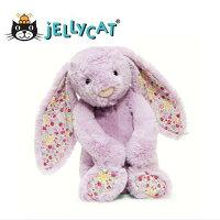 彌月禮盒推薦★啦啦看世界★ Jellycat 英國玩具 / 粉紫碎花 玩偶 彌月禮 生日禮物 情人節 聖誕節 明星 療癒 辦公室小物