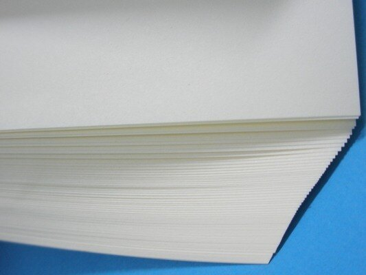 8開 印書紙 白報紙 50磅(米黃色) / 一小包80張入 { 促45 }  環保紙 模造紙~文 3