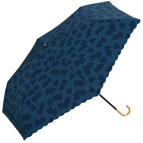 【百倉日本舖】日本進口 w.p.c 愛心握把折傘/摺疊傘/陽傘/雨傘