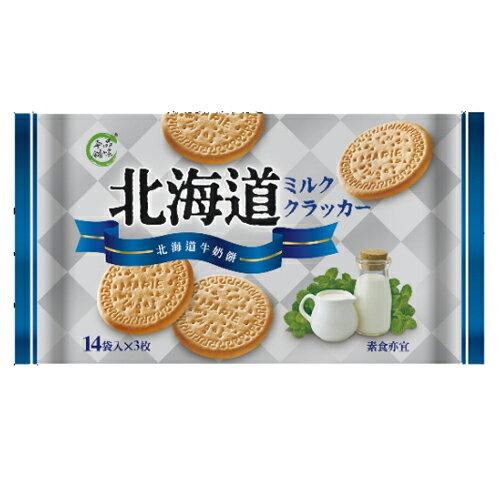 品味本舖北海道牛奶餅224g【愛買】