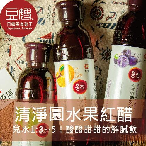 【豆嫂】韓國飲料 清淨園 水果紅醋(多種口味)