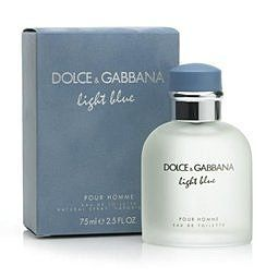 香水1986☆Dolce&GabbanaLightBlue淺藍男性淡香水75ML
