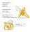 『121婦嬰用品館』辛巴 糖果拇指型安撫奶嘴 - 橘色 (較大) 4