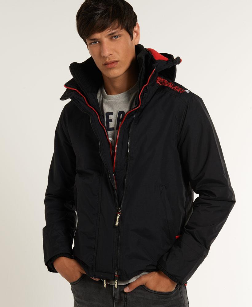 [男款] 英國代購 極度乾燥 Superdry Arctic 男士風衣戶外休閒 外套夾克 防水 防風 保暖 黑色/紅色 2