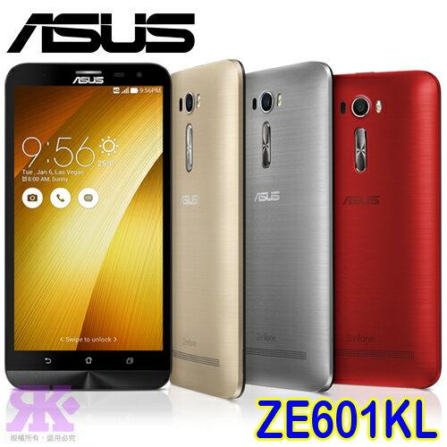 ASUS ZF2 Laser ZE601KL 6吋八核智慧手機-贈專用皮套+9H鋼化保貼+韓版收納包+奈米噴劑+手機/平板支架