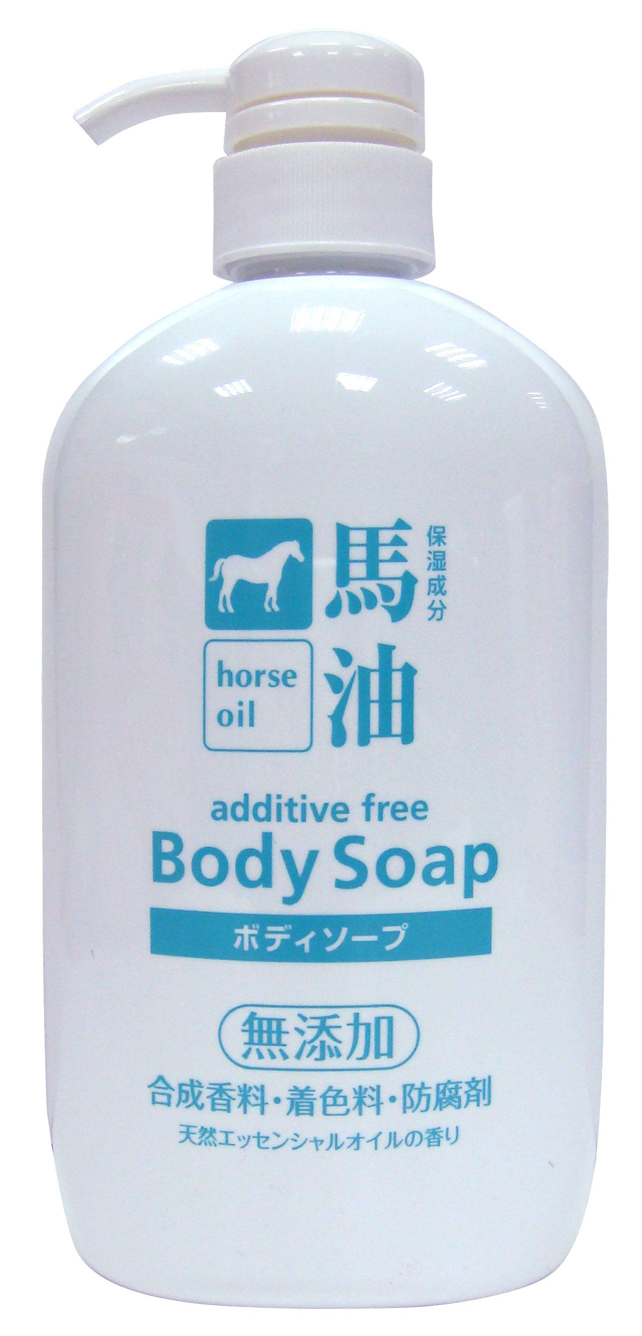熊野 馬油 無添加 保濕沐浴乳 600ml