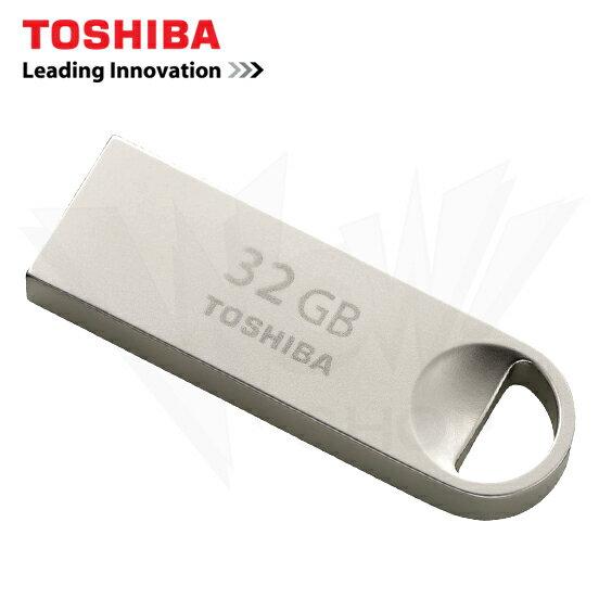 TOSHIBA 東芝 32GB U401 金屬殼 隨身碟 THN-U401S0320A4