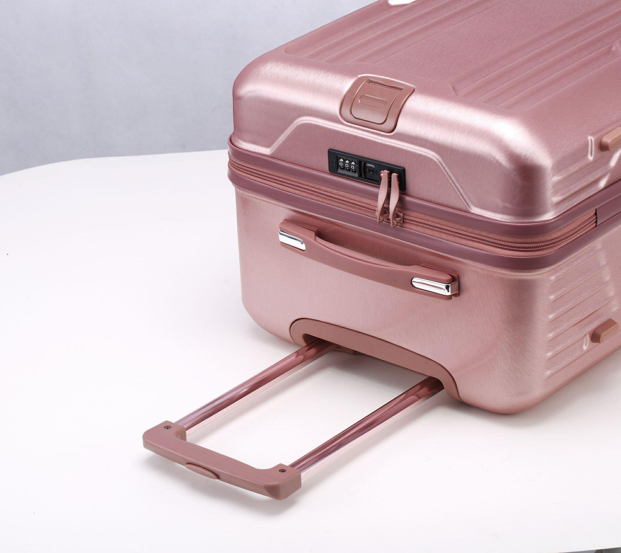 運動款 拉鍊 胖胖箱 旅行箱 20吋25吋29吋 行李箱 -鐵灰色 / 深紫色 / 玫瑰金-現貨當日出貨-免運台南可預約自取 7