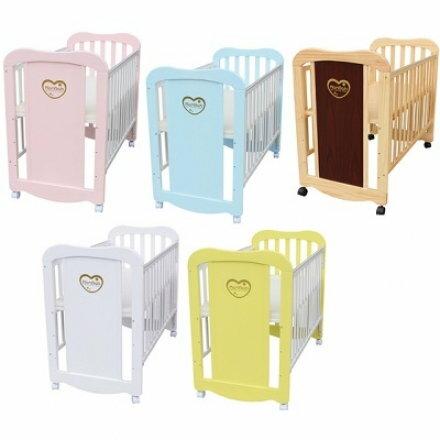 彩虹貝比乳母小床 5色可選 嬰兒床【六甲媽咪】