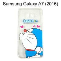 小叮噹週邊商品推薦哆啦A夢空壓氣墊軟殼 [嘟嘴] Samsung A710Y Galaxy A7 (2016) 小叮噹【正版授權】